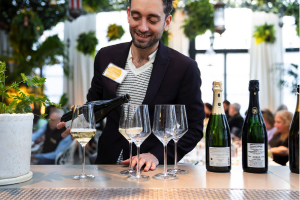 Wines of Germany's Stephen Schmitz pours more Sekt at 'Let's Talk About Sekt'