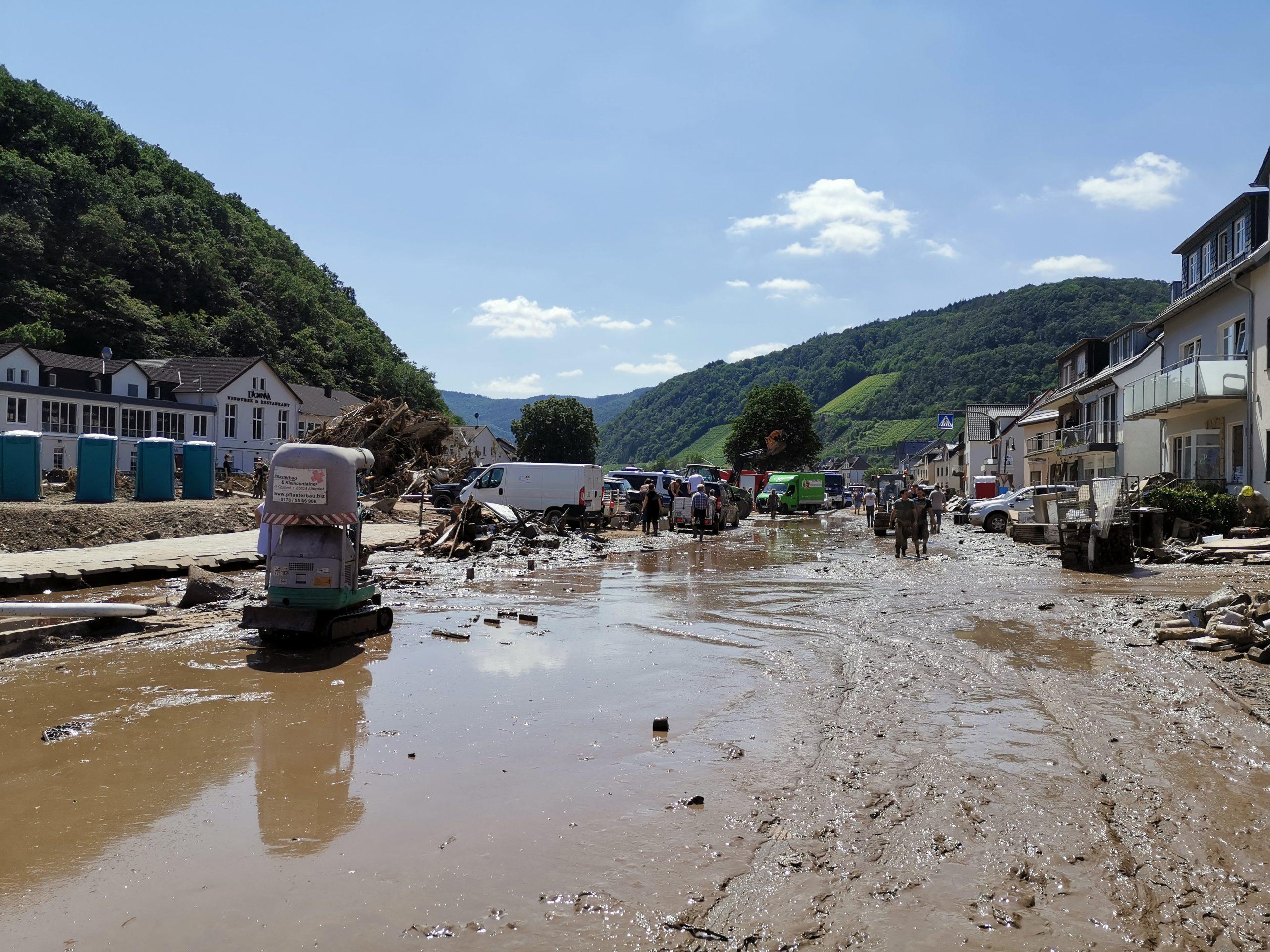 Aftermath of Devastating Flood in Germany